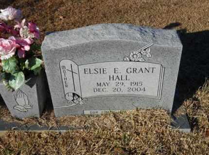 HALL, ELSIE E - Caldwell County, Louisiana | ELSIE E HALL - Louisiana Gravestone Photos