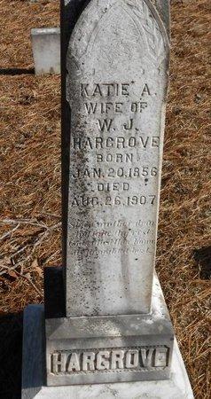 HARGROVE, KATIE A - Caldwell County, Louisiana | KATIE A HARGROVE - Louisiana Gravestone Photos
