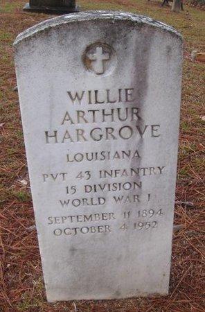 HARGROVE, WILLIE ARTHUR  (VETERAN WWI) - Caldwell County, Louisiana | WILLIE ARTHUR  (VETERAN WWI) HARGROVE - Louisiana Gravestone Photos