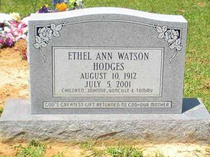 HODGES, ETHEL ANN - Caldwell County, Louisiana   ETHEL ANN HODGES - Louisiana Gravestone Photos
