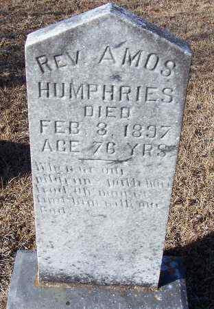 HUMPHRIES, AMOS, REV - Caldwell County, Louisiana   AMOS, REV HUMPHRIES - Louisiana Gravestone Photos