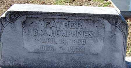 HUMPHRIES, B A - Caldwell County, Louisiana | B A HUMPHRIES - Louisiana Gravestone Photos