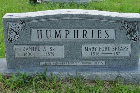 HUMPHRIES, MARY FORD - Caldwell County, Louisiana | MARY FORD HUMPHRIES - Louisiana Gravestone Photos