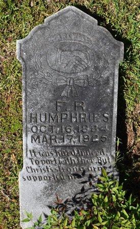 HUMPHRIES, F R - Caldwell County, Louisiana   F R HUMPHRIES - Louisiana Gravestone Photos