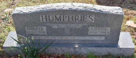 HUMPHRIES, HARPER - Caldwell County, Louisiana   HARPER HUMPHRIES - Louisiana Gravestone Photos