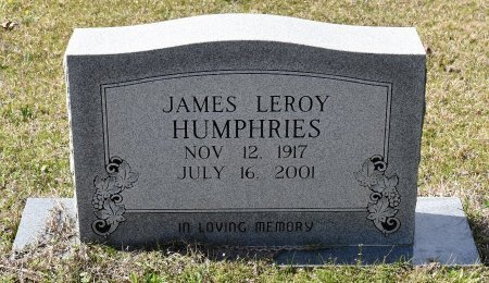 HUMPHRIES, JAMES LEROY - Caldwell County, Louisiana | JAMES LEROY HUMPHRIES - Louisiana Gravestone Photos