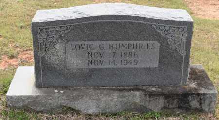 HUMPHRIES, LOVIC G - Caldwell County, Louisiana | LOVIC G HUMPHRIES - Louisiana Gravestone Photos