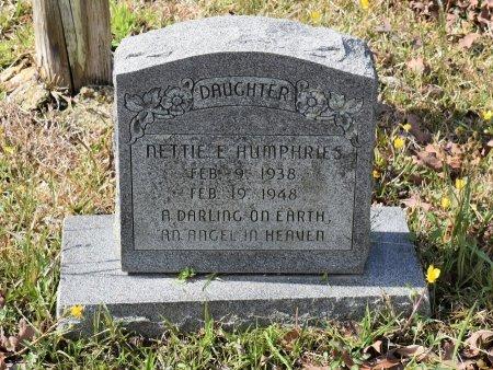 HUMPHRIES, NETTIE E - Caldwell County, Louisiana | NETTIE E HUMPHRIES - Louisiana Gravestone Photos