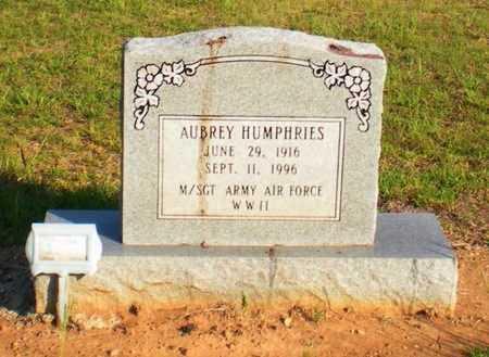 HUMPHRIES, AUBREY (VETERAN WWII) - Caldwell County, Louisiana | AUBREY (VETERAN WWII) HUMPHRIES - Louisiana Gravestone Photos