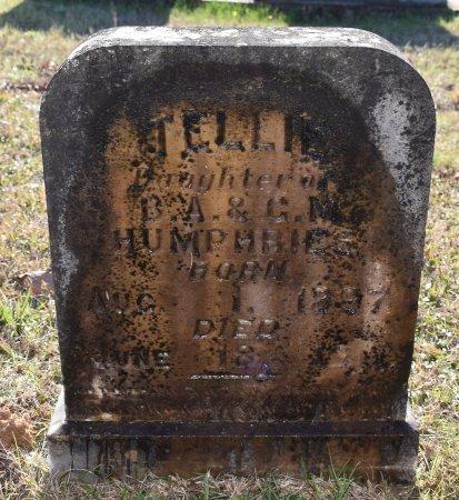 HUMPHRIES, TELLIE - Caldwell County, Louisiana | TELLIE HUMPHRIES - Louisiana Gravestone Photos
