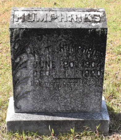 HUMPHRIES, W T - Caldwell County, Louisiana | W T HUMPHRIES - Louisiana Gravestone Photos