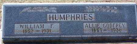 HUMPHRIES, WILLIAM F - Caldwell County, Louisiana | WILLIAM F HUMPHRIES - Louisiana Gravestone Photos
