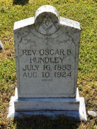 HUNDLEY, OSCAR B, REV - Caldwell County, Louisiana   OSCAR B, REV HUNDLEY - Louisiana Gravestone Photos