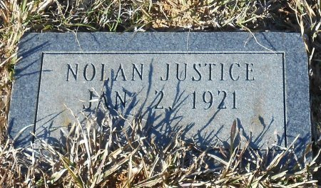 JUSTICE, NOLAN - Caldwell County, Louisiana | NOLAN JUSTICE - Louisiana Gravestone Photos