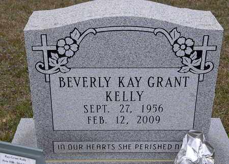 GRANT KELLY, BEVERLY KAY - Caldwell County, Louisiana | BEVERLY KAY GRANT KELLY - Louisiana Gravestone Photos