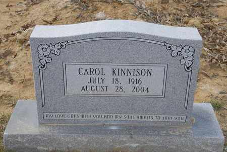HOLLINGSWORTH KINNISON, CAROL - Caldwell County, Louisiana | CAROL HOLLINGSWORTH KINNISON - Louisiana Gravestone Photos