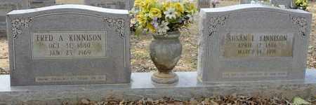 KINNISON, SUSAN - Caldwell County, Louisiana | SUSAN KINNISON - Louisiana Gravestone Photos