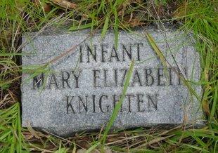 KNIGHTEN, MARY ELIZABETH - Caldwell County, Louisiana | MARY ELIZABETH KNIGHTEN - Louisiana Gravestone Photos