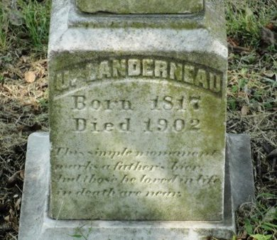 LANDERNEAU, U (CLOSEUP) - Caldwell County, Louisiana | U (CLOSEUP) LANDERNEAU - Louisiana Gravestone Photos