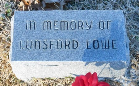 LOWE, LUNSFORD - Caldwell County, Louisiana   LUNSFORD LOWE - Louisiana Gravestone Photos