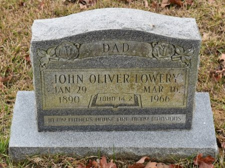 LOWERY, JOHN OLIVER - Caldwell County, Louisiana | JOHN OLIVER LOWERY - Louisiana Gravestone Photos