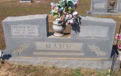 MANN, WILLIAM W., JR. - Caldwell County, Louisiana | WILLIAM W., JR. MANN - Louisiana Gravestone Photos