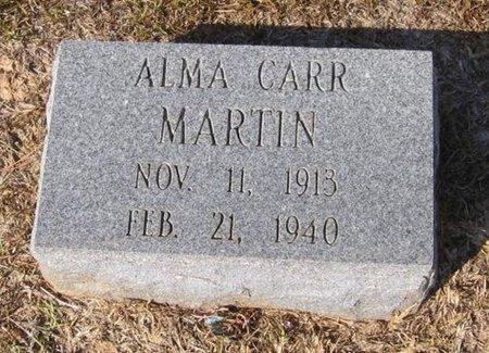 MARTIN, ALMA - Caldwell County, Louisiana | ALMA MARTIN - Louisiana Gravestone Photos