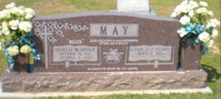 MAY, DOUGLAS MCARTHUR - Caldwell County, Louisiana | DOUGLAS MCARTHUR MAY - Louisiana Gravestone Photos