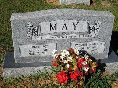 MAY, ERNESTINE - Caldwell County, Louisiana | ERNESTINE MAY - Louisiana Gravestone Photos