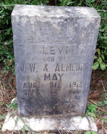 MAY, LEVI - Caldwell County, Louisiana   LEVI MAY - Louisiana Gravestone Photos