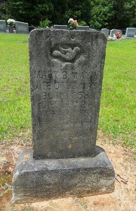 MAY, MARY B - Caldwell County, Louisiana | MARY B MAY - Louisiana Gravestone Photos