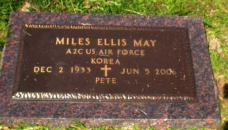 "MAY , MILES ELLIS  ""PETE"" (VETERAN KOR) - Caldwell County, Louisiana | MILES ELLIS  ""PETE"" (VETERAN KOR) MAY  - Louisiana Gravestone Photos"