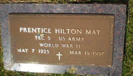 MAY , PRENTICE HILTON (VETERAN WWII) - Caldwell County, Louisiana | PRENTICE HILTON (VETERAN WWII) MAY  - Louisiana Gravestone Photos