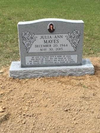 MAYES MAYES, JULIA ANN - Caldwell County, Louisiana | JULIA ANN MAYES MAYES - Louisiana Gravestone Photos