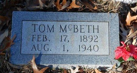 MCBETH, TOM - Caldwell County, Louisiana | TOM MCBETH - Louisiana Gravestone Photos