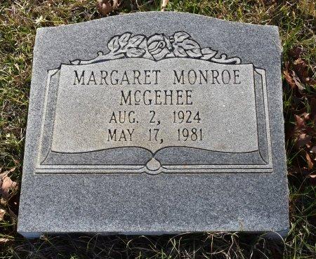 MCGEHEE, MARGARET - Caldwell County, Louisiana | MARGARET MCGEHEE - Louisiana Gravestone Photos