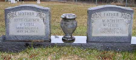 CLAUNCH MCGEHEE, RUTH - Caldwell County, Louisiana | RUTH CLAUNCH MCGEHEE - Louisiana Gravestone Photos