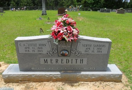 MEREDITH, VERTIE LEE - Caldwell County, Louisiana | VERTIE LEE MEREDITH - Louisiana Gravestone Photos