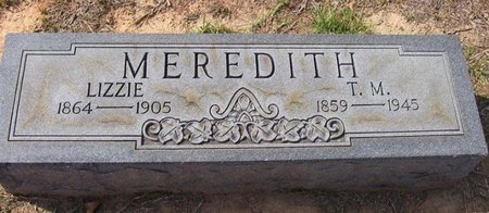 MEREDITH, LIZZIE - Caldwell County, Louisiana | LIZZIE MEREDITH - Louisiana Gravestone Photos