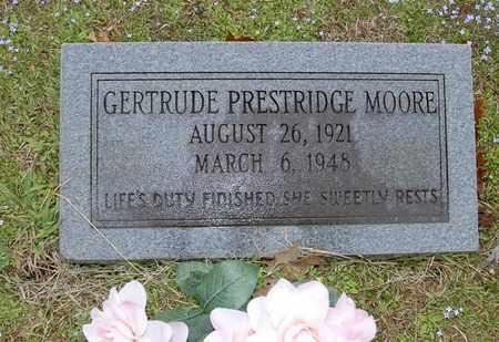 PRESTRIDGE MOORE, GERTRUDE - Caldwell County, Louisiana | GERTRUDE PRESTRIDGE MOORE - Louisiana Gravestone Photos