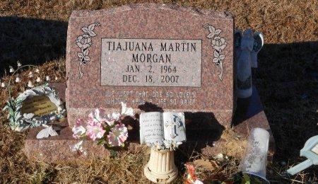 MARTIN MORGAN, TIA JUANA - Caldwell County, Louisiana | TIA JUANA MARTIN MORGAN - Louisiana Gravestone Photos