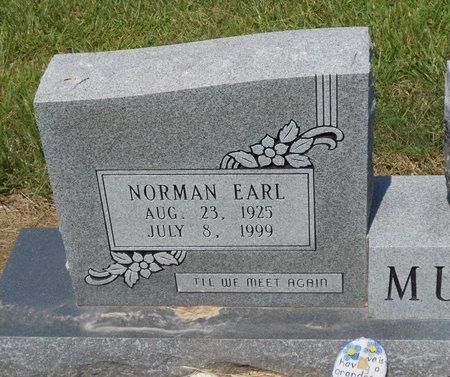 MURPHY, NORMAN EARL (CLOSE UP) - Caldwell County, Louisiana | NORMAN EARL (CLOSE UP) MURPHY - Louisiana Gravestone Photos
