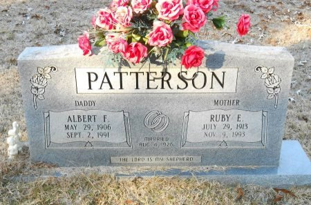 PATTERSON, ALBERT F - Caldwell County, Louisiana | ALBERT F PATTERSON - Louisiana Gravestone Photos