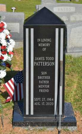 PATTERSON, JAMES TODD - Caldwell County, Louisiana | JAMES TODD PATTERSON - Louisiana Gravestone Photos
