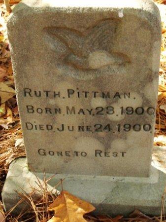 PITTMAN, RUTH - Caldwell County, Louisiana | RUTH PITTMAN - Louisiana Gravestone Photos