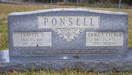 PONSEL, EMMA E - Caldwell County, Louisiana | EMMA E PONSEL - Louisiana Gravestone Photos