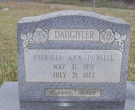PONSELL, PATRICIA ANN - Caldwell County, Louisiana   PATRICIA ANN PONSELL - Louisiana Gravestone Photos