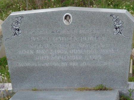 HADLEY POWELL, MARIE - Caldwell County, Louisiana   MARIE HADLEY POWELL - Louisiana Gravestone Photos