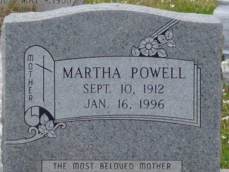 POWELL, MARTHA - Caldwell County, Louisiana | MARTHA POWELL - Louisiana Gravestone Photos