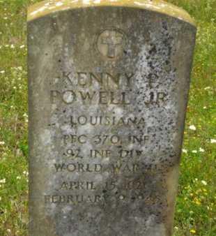 POWELL, KENNY P, JR (VETERAN WWII, KIA) - Caldwell County, Louisiana | KENNY P, JR (VETERAN WWII, KIA) POWELL - Louisiana Gravestone Photos